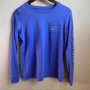 Vinvard Vines long sleeve pocket tee T-shirt